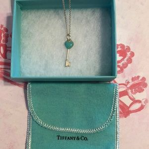 Tiffany & Co Tiffany Blue Key Heart Pendant Only